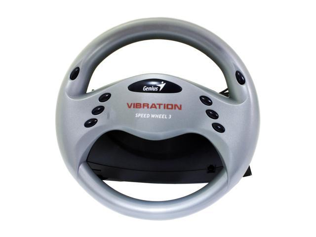 Genius SPEED WHEEL 3 VIBRATION Racing Wheel with Vibration FeedBack