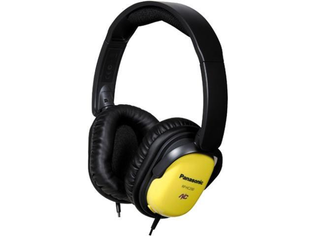 Panasonic Yellow RP-HC200-Y Noise Canceling Headphones