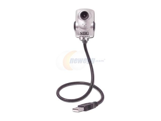 SIIG CE-UMCP12-S3 0.3 MP Effective Pixels USB 2.0 MobileCam/Light Pro