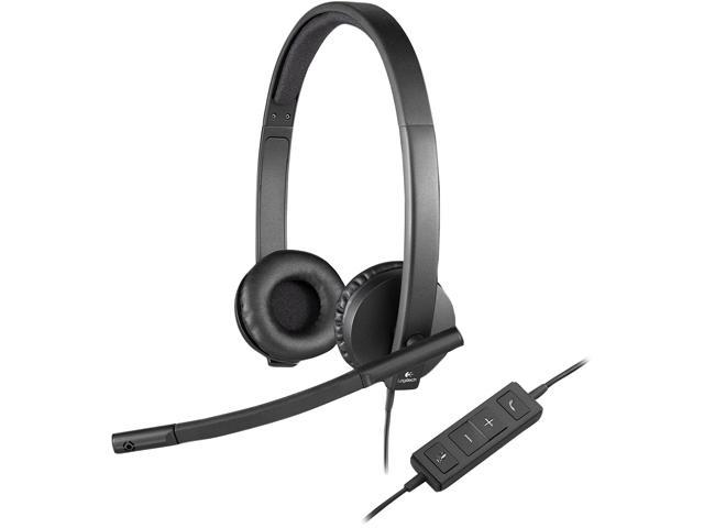 Logitech 981-000574 USB Connector USB Headset H570e Stereo