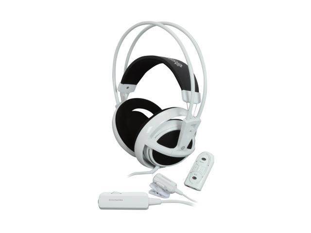 SteelSeries 51002SS Circumaural Siberia Full-Size headset USB (white)