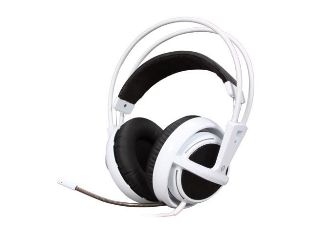 SteelSeries Siberia v2 3.5mm Connector Circumaural Full-size Headset - White