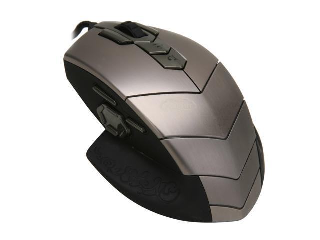 SteelSeries 62006 Silver/Black 15 Buttons 1 x Wheel USB Wired World of Warcraft: MMO Gaming Mouse