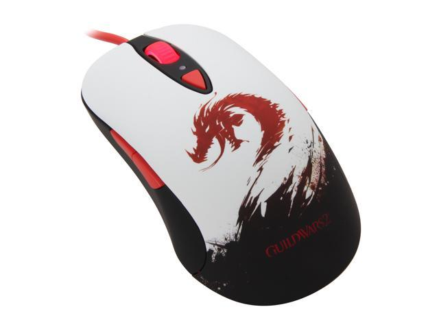 SteelSeries Guild Wars 2 62156 8 Buttons 1 x Wheel USB Wired Laser Gaming Mouse