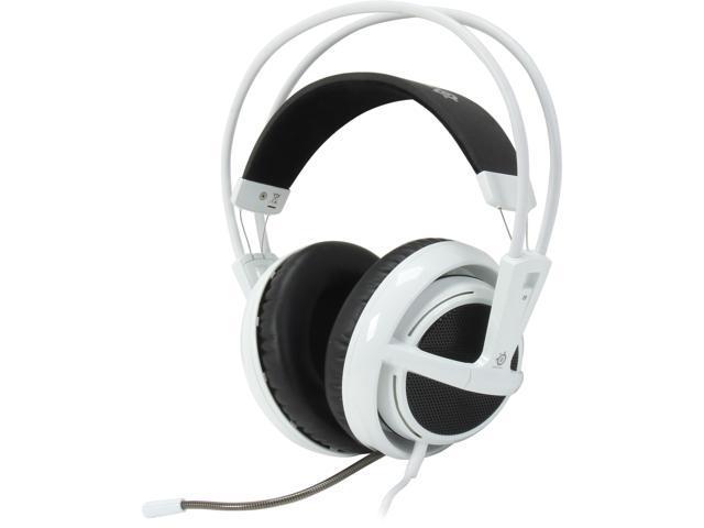 SteelSeries Siberia v2 3.5mm Connector Circumaural Full-size Headset - White