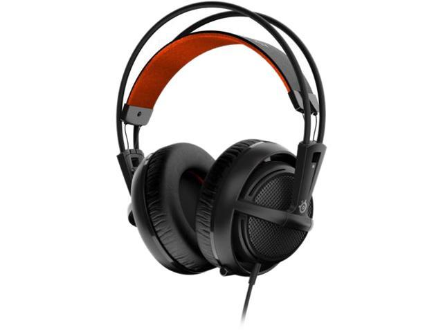 SteelSeries Siberia 200 Gaming Headset - Black