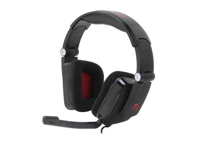 Tt eSPORTS HT-SHK002ECBL Circumaural SHOCK Gaming Headset