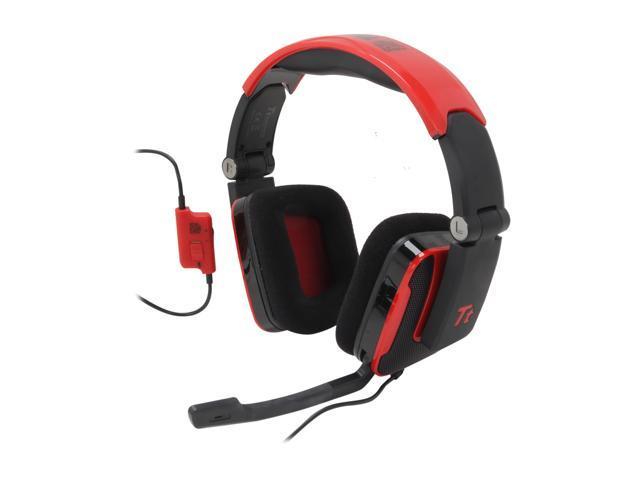 Tt eSPORTS SHOCK 3.5mm x2 Connector Headset -  Blasting Red