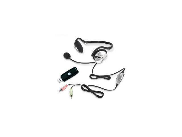 ALTEC LANSING AHS302USB 3.5mm/ USB Connector Circumaural Stereo Headset