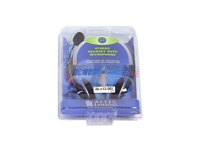 ALTEC LANSING AHS322 3.5mm Connector Supra-aural Stereo Headset