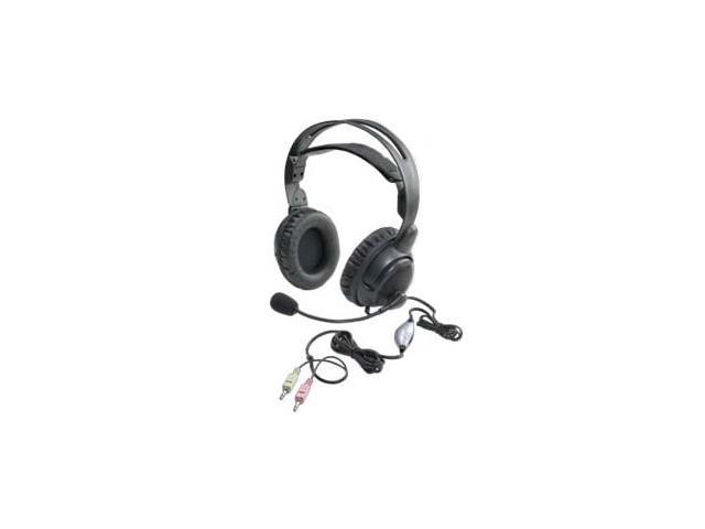 ALTEC LANSING AHS515 3.5mm Connector Circumaural Stereo Headset with Microphone