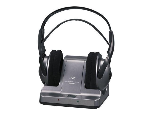 JVC HA-W600RF Circumaural 900 MHz Wireless Stereo Headphone