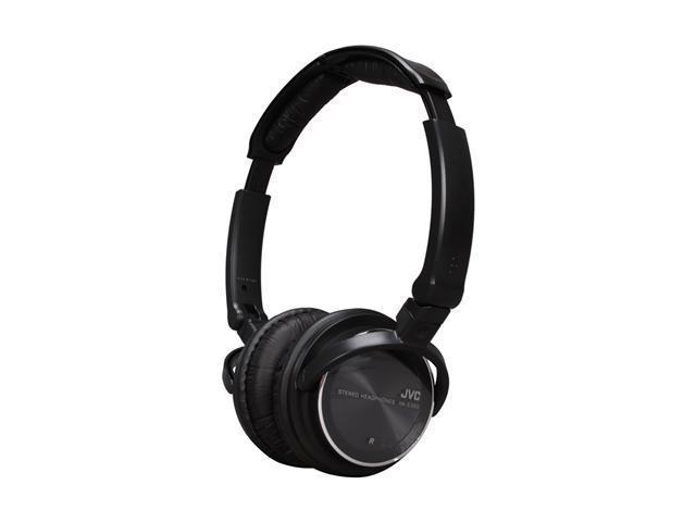 JVC HA-S360B Freestyle DJ Headphones, Black