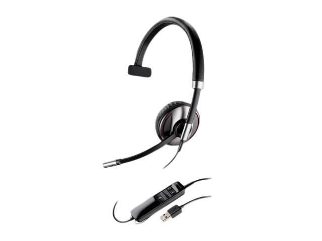 PLANTRONICS Blackwire 700 C710-M(87505-01) USB Connector Supra-aural Over-the-head, Monaural (Microsoft)