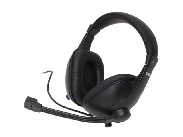 Cyber Acoustics AC-960 3.5mm Connector Circumaural Educational Series Stereo Headset and Boom Mic