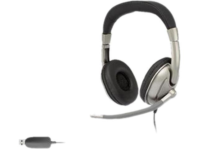 Cyber Acoustics AC-8003 USB Connector Circumaural Stereo Headset