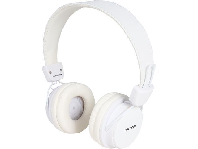 Tenqa White REMXD White Wireless Bluetooth Headphones