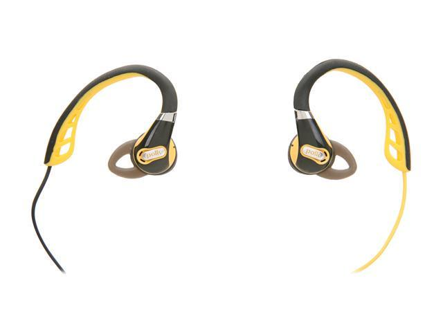 Polk Audio Black UltraFit 500 In-Ear Headphone - Black/Gold