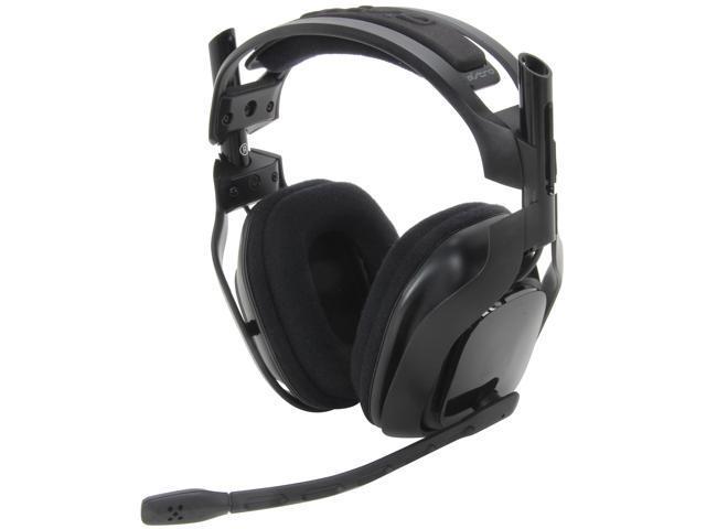 Astro Gaming A40 Quick Disconnect Connector Circumaural Headset - Black