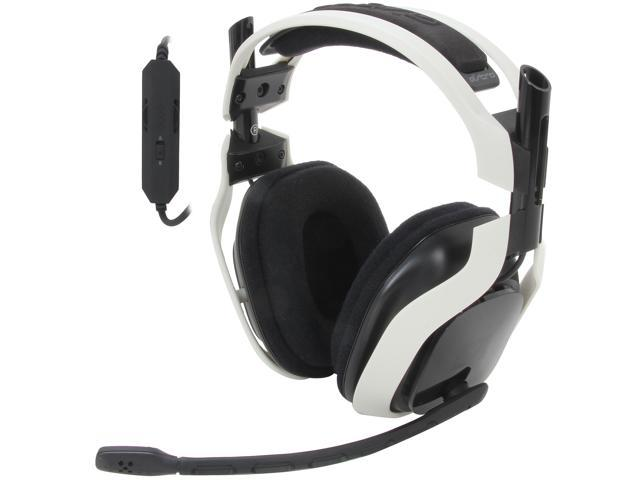Astro Gaming A40 Quick Disconnect Connector Circumaural Headset - White