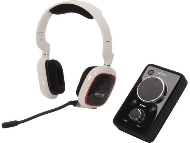 Astro Gaming A30 Circumaural Wired Headset + MixAmp Pro - White