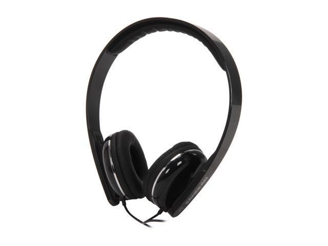 Sangean Black EU-55 3.5mm Connector Full Size Stereo Headphones