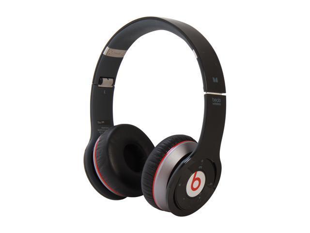 Beats by Dr. Dre Black Wireless 3.5mm Connector On-Ear Headphone (Black)