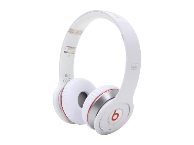 Beats by Dr. Dre White Wireless 3.5mm Connector On-Ear Bluetooth Headphone (White)