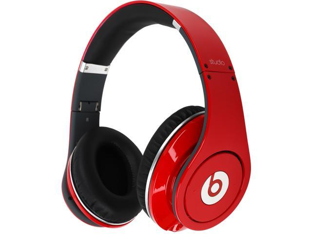 Beats by Dr. Dre Red STUDIO 1.0 - RED 3.5mm Connector Supra-aural Headphone