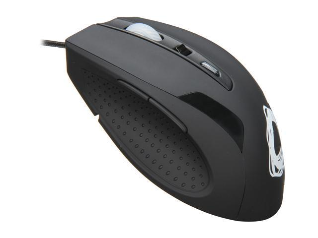 Ozone Gaming Gear RADON 3K Black 8 Buttons USB Wired Laser 3200 dpi Mouse w. Adjustable Weights