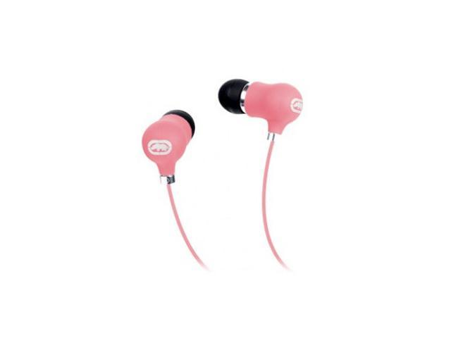 Mizco Pink EKU-BBL-PK 3.5mm Connector Bubble Earbud