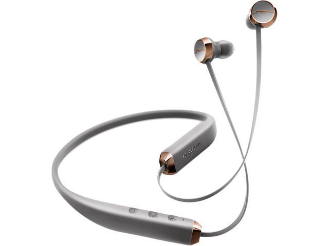 Sol Republic Rich Grey 1140-04 SHADOW WIRELESS In-Ear Headphones with Microphone and 3-Button Remote