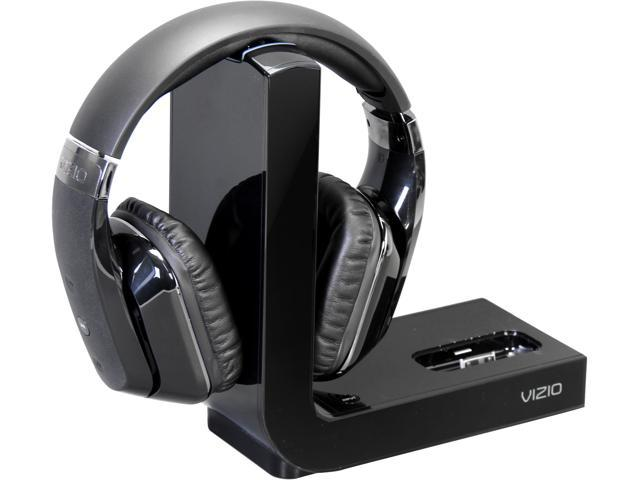 VIZIO XVTHP200 Active Noise Canceling High Definition Home Theater Headphones with Wireless Dock for iPod & iPhone(Black)