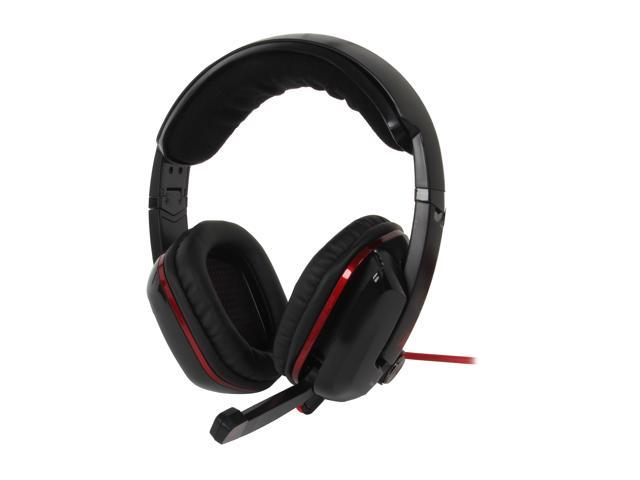AZIO Levetron GH808 USB Connector Circumaural Gaming Headset