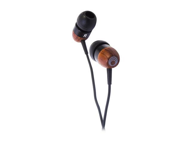 Thinksound TS01BLK 3.5mm Connector Earbud In-ear 10mm high definition headphone with passive noise isolation