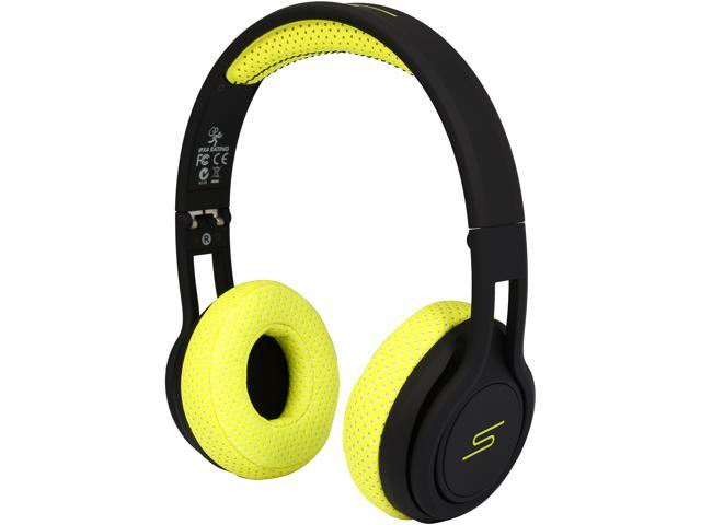 SMS Audio Yellow SMS-ONWD-SPRT-YLW STREET by 50 On Ear Wired  Sport Headphones