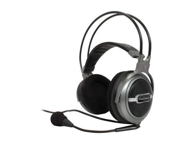 Turtle Beach TBS-2114 Earforce HPA2 5.1 Surround Sound Headset with Amplifier and Removable Microphone