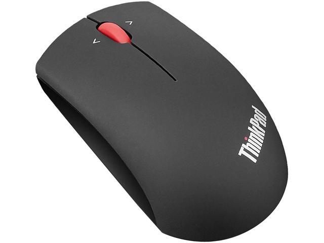 lenovo ThinkPad Precision Wireless Mouse 0B47163 Midnight Black Tilt Wheel USB Wired / Wireless Blue Optical Mouse