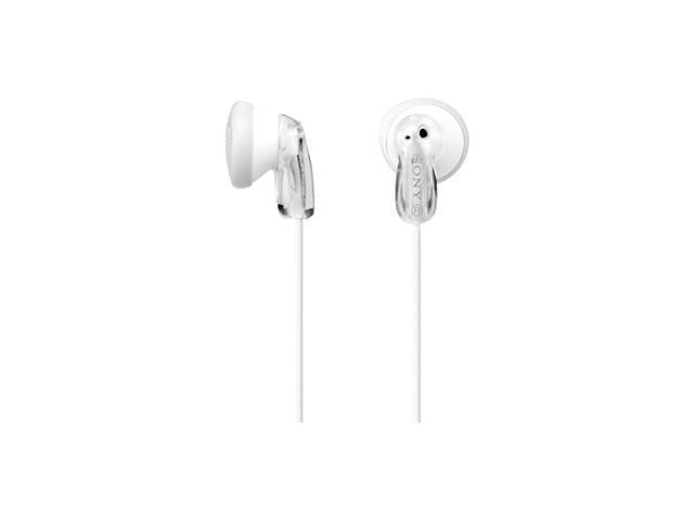 SONY White Binaural Headphone/Headset