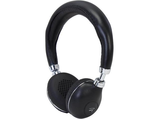 MartinLogan Black Mikros 90 Reference On-Ear Headphones