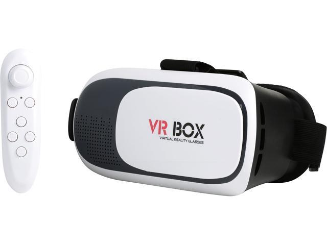 VR Box Headset with Bluetooth Remote Control Included - A Grade Like New