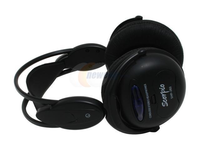 LUXMA LHP-888HT-BK Circumaural Black Wireless Headphone Set