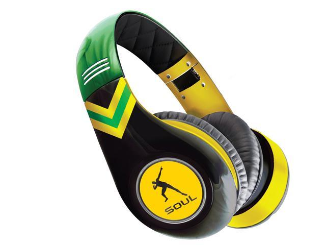 Soul by Ludacris Yellow SL300JAM Circumaural Noise Canceling Headphones