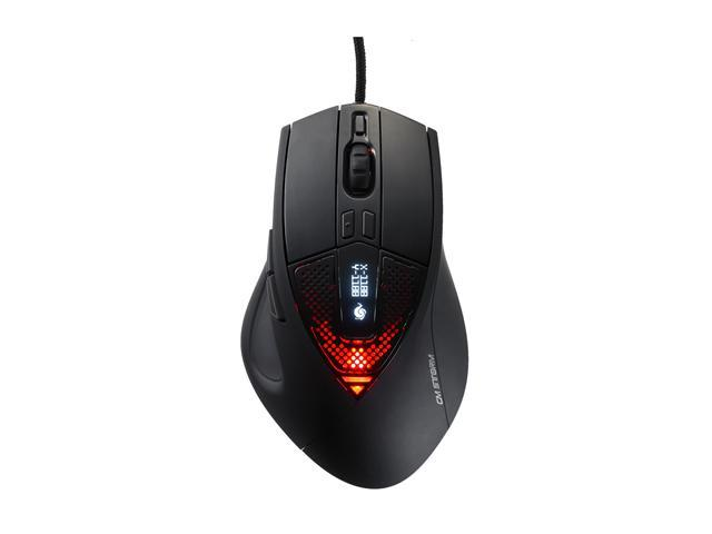 CM Storm SGM-6000-KLLW1-GP Black Wired Laser Mouse