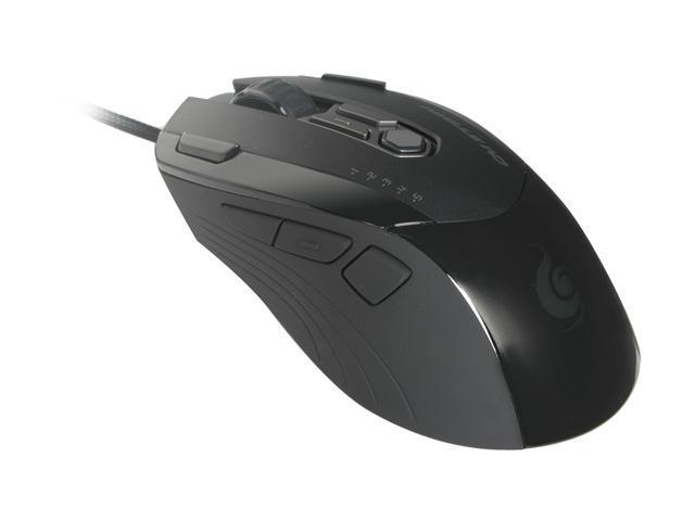 COOLER MASTER Inferno SGM-4000-KLLN1-GP Black & Grey Wired Laser MMO RPG Gaming Mouse