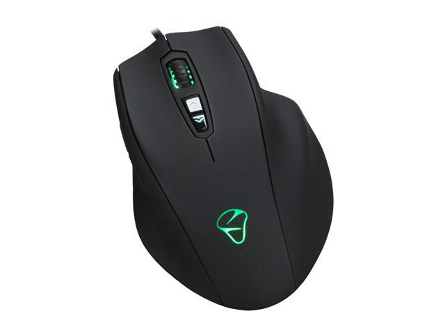 Mionix NAOS-5000 Black 7 Buttons 1 x Wheel USB Wired Laser Mouse
