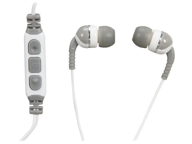 SCOSCHE Increased Dynamic Range Sport Earphones with tapLINE Remote & Mic and Color Caps IDRS356M
