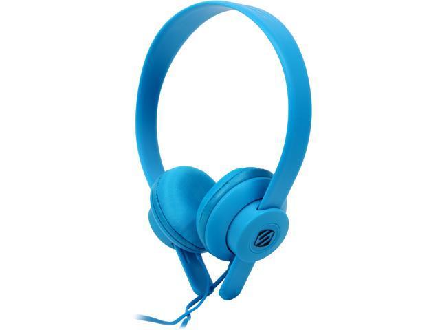 Scosche lobeDOPE On-Ear Headphones w/ mic - Blue - SHP451M-BL