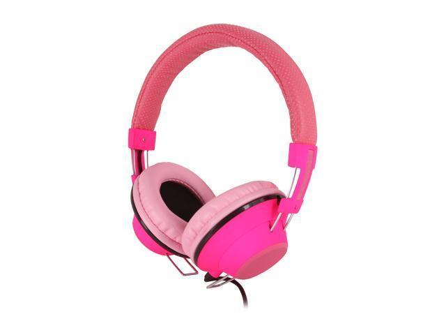 Incipio NX-101 Circumaural f38 Hi-Fi Stereo Headphone - Neon Pink
