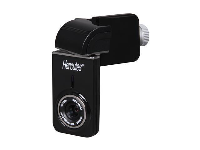 Hercules 4780582 Dualpix HD720p WebCam for Notebooks